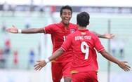 U-22 Myanmar đá bại Singapore ở trận khai mạc SEA Games 29