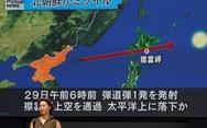 Dân Nhật đã bắt đầu sợ tên lửa Triều Tiên