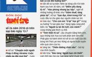 Đón đọc TTCT số 26 có trên sạp báo ngày 13- 7