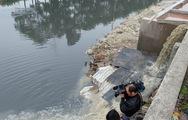 Chủ doanh nghiệp xả thải trộm ở Hưng Yên 'mất tích'