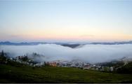 Cuối tuần, ngắm suối mây nõn nà trên núi đồi Đà Lạt