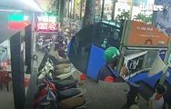 Nhiều thiết bị có giá trị lớn ở trạm xe buýt bị mất trộm