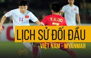Những trận đấu khó quên của tuyển Việt Nam trước Myanmar