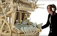 Khám phá cỗ máy âm nhạc phức tạp và thú vị Marble Machine