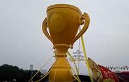 LIVE: Cup khủng và hàng ngàn cổ động viên đang đổ về sân Mỹ Đình