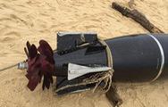 Video: Cận cảnh vật thể giống ngư lôi trôi dạt vào bờ biển Phú Yên