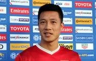 Tiền vệ Huy Hùng: 'Thể lực đội tuyển VN có phần giảm sút'