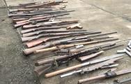 Video: Công an tiêu hủy gần 100 khẩu súng tự chế