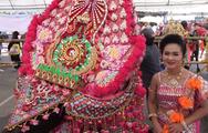 Máy móc lo việc, trâu Thái Lan được rảnh rỗi đi thi hoa hậu