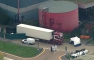 Video: Phát hiện 39 thi thể trong thùng container tại một KCN của Anh