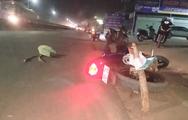 Video: 2 công nhân sắp đám cưới bị xe tải tông trên quốc lộ 1