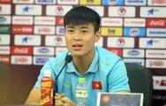 Trung vệ Duy Mạnh: 'Tôi mong chờ đem lại niềm vui cho người hâm mộ'