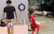 Fan 7 tuổi sút thần sầu như cầu thủ Mohamed Sala