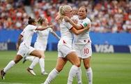 Video tuyển nữ Anh đá bại Cameroon ở vòng 16 đội World Cup nữ 2019