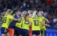 Video Thụy Điển thắng Canada 1-0 để gặp Đức ở tứ kết World Cup nữ 2019
