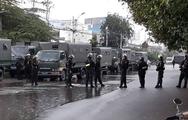 Video: Cảnh sát khám xét trụ sở Công ty cổ phần địa ốc Alibaba