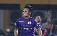 Video: Cú vô lê đẳng cấp của Quang Hải mở ra thắng lợi cho CLB Hà Nội trước Sài Gòn