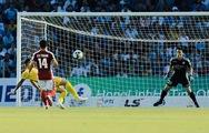 Video bàn thắng duy nhất của Bruno giúp Hà Tĩnh đánh bại CLB TP.HCM