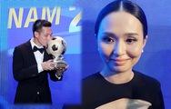 Vợ Văn Quyết không bất ngờ khi chồng giành Quả bóng Vàng Việt Nam 2020