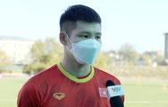 Hậu vệ Liễu Quang Vinh: 'Chúng tôi không gặp áp lực trước HLV Park Hang Seo'
