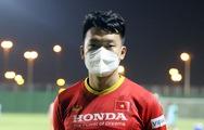 Trung vệ Thành Chung: 'Toàn đội rất quyết tâm trước trận gặp Trung Quốc'