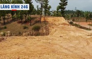 Lăng kính 24g: Xã 'xẻ thịt' đồi thông phòng hộ lấy đất trái phép
