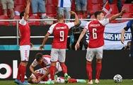 Video: Khoảnh khắc Eriksen đổ gục trên sân