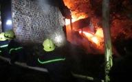 Sét đánh cháy xưởng làm hương trầm chùa Thanh Tâm