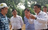 Chủ tịch Hà Nội kiểm tra đột xuất việc chặt cây xanh