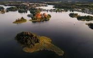 Ngắm vẻ đẹp như tranh vẽ của Litva từ flycam