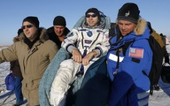Tàu vũ trụ Nga mang 3 phi hành gia về Trái đất