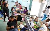 Trời trở lạnh, số trẻ mắc bệnh hô hấp nhập viện tăng nhẹ