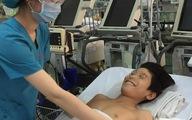 Mổ 2 lần để lấy bướu khủng gây liệt cho bệnh nhi 12 tuổi