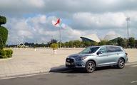 Cùng Infiniti QX60, xe ông chủ về thăm Công tử…