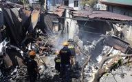 Máy bay đâm thẳng nhà dân ở Philippines, ít nhất 7 người thiệt mạng