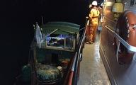 Cứu nạn 19 ngư dân trên 2 tàu cá va nhau