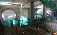 Robo khoan đường hầm metro thứ 2 từ ga Ba Son về ga Nhà hát TP