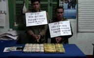 Phá đường dây đưa 30.000 viên ma túy qua biên giới