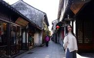 Lang thang ngắm xuân sang ở cổ trấn Châu Trang