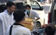 Bảo quản, chuyển đến bệnh viện cánh tay của SV gặp nạn ở đèo Hải Vân