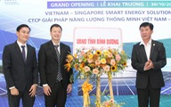 Bình Dương hợp tác Singapore hiện thực hóa năng lượng thông minh
