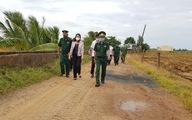 Phó chủ tịch nước làm việc với lực lượng chống dịch COVID-19 tại An Giang