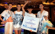 Giang Tú đoạt giải nhất cuộc thi Aquafina Pure Fashion 2013
