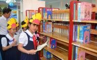 Khánh thành thư viện hiện đại, kiểu mẫu khối tiểu học