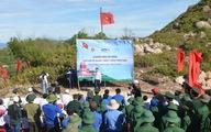 Xây cột cờ tổ quốc trên đảo Cù Lao Xanh
