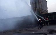 Cháy container chở phốt pho,khí độc phát tán