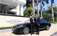 Park Hyatt Saigon ra mắt đội xe đưa đón đẳng cắp thế giới