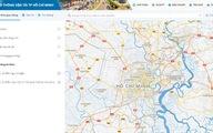 Bản đồ giao thông số tiếp nhận thông tin sự cố giao thông