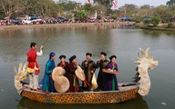 Về Bắc Ninh nghe hát quan họ trên hồ