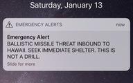 Giải golf hoảng loạn vì tin nhắn báo động tên lửa tấn công